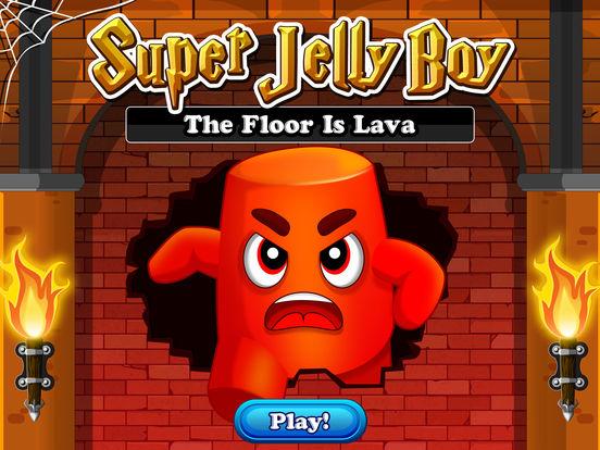 Super Jelly Boy - The Lava World для iPad