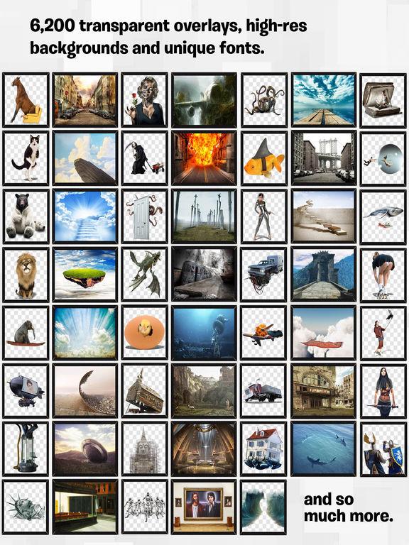 PhotoCrash 2 Overlay, FX & Background Photo Editor Screenshots