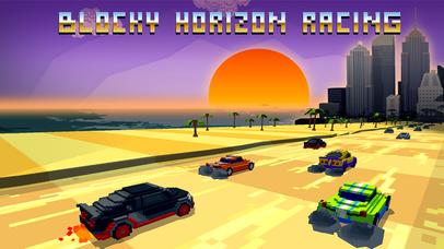 Horizon Blocky Racing Full screenshot 1