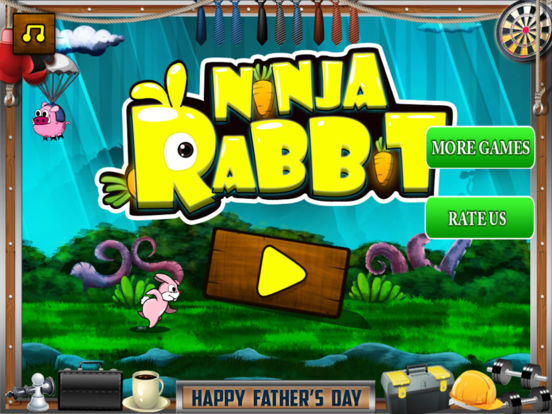 Ninja Rabbit Pro Screenshots