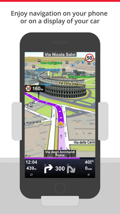 Sygic Car Navigation Screenshots