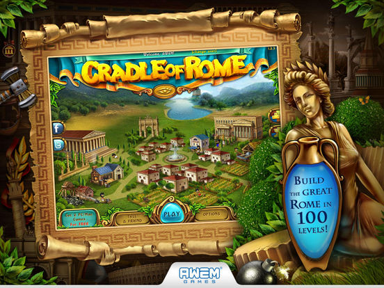 Cradle of Rome на iPad