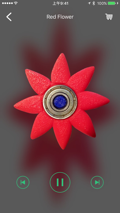 Fidget Spinner - Top Hand Finger Spinner Simulator screenshot 3