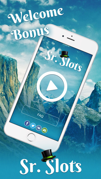 Screenshot 1 Sr. Slots — Favorite Slots & Vegas Games