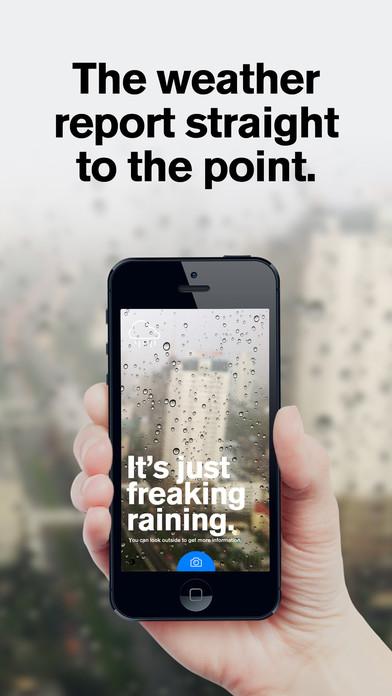 Authentic Weather Screenshots