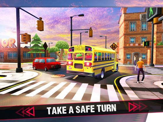 School Bus 3D Game screenshot 6