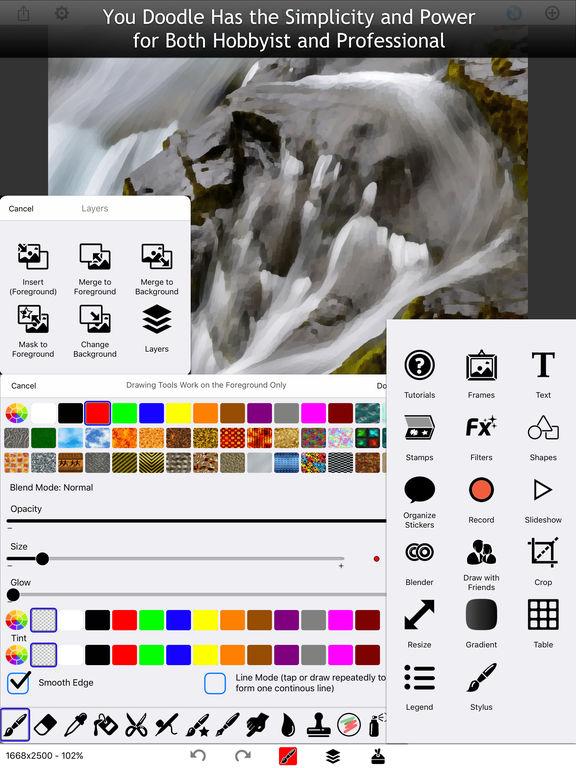You Doodle Pro - Dozens of powerful tools for you! Screenshots