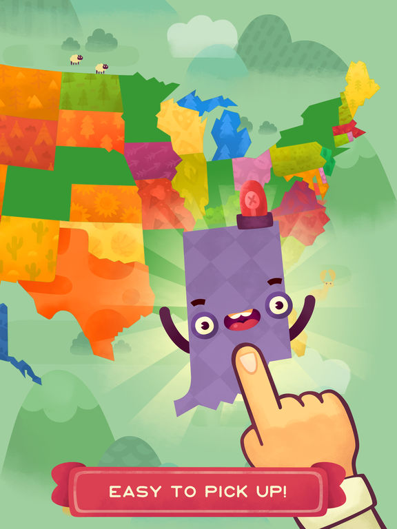 50 States (Ad Free) screenshot 7