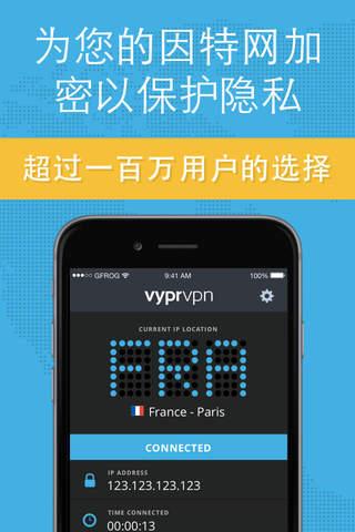 VPN - Fast & Secure VyprVPN screenshot 1