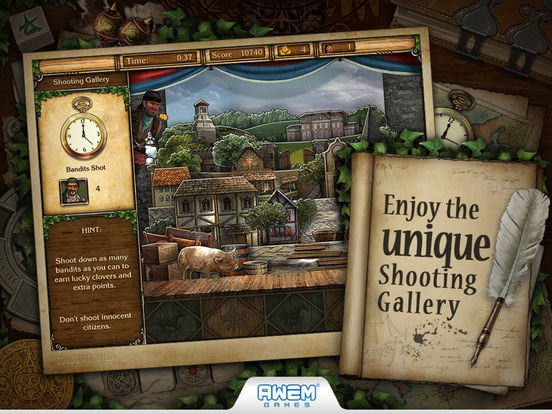 Screenshot #4 for Golden Trails 2: Hidden Object Adventure