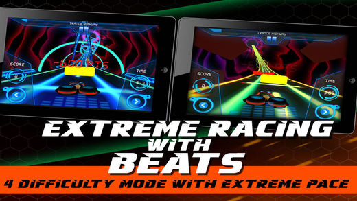 Extreme Racing With Beats 3D Screenshot