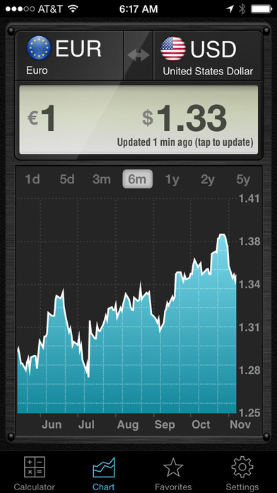 Currency Converter HD, money calculator with exchange rates for 150+ foreign currencies Screenshot 2