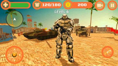 Superhero WAR: Army Counter Terrorist Attack screenshot 1