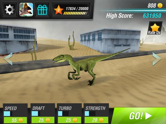 Скачать игру Легенды дино: Dino Racing Sim