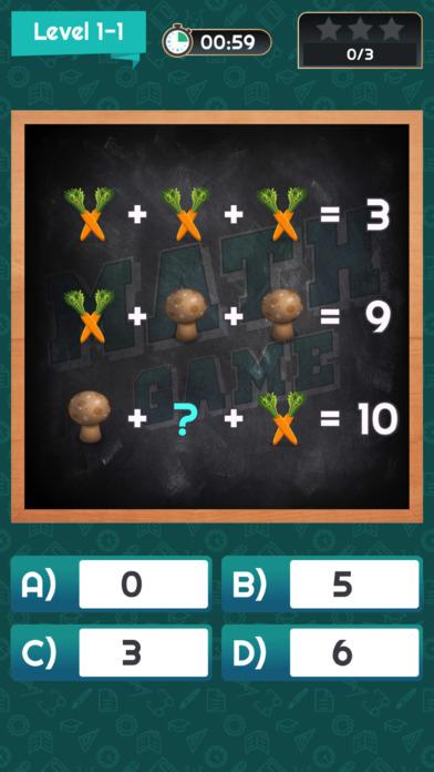 Math Game X screenshot 3