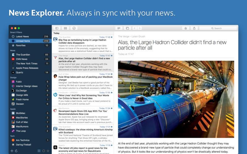 News Explorer for Mac