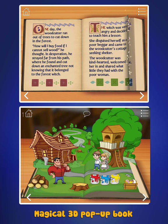 Grimm's Hansel and Gretel ~ 3D Interactive Book Screenshots