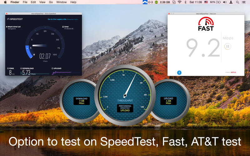 InternetSpeedTest Screenshot - 5