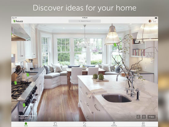 ipad screenshot 1 - Houzz Interior Design Ideas