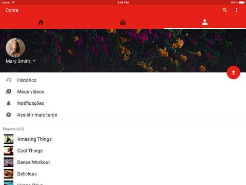Imagens iPad