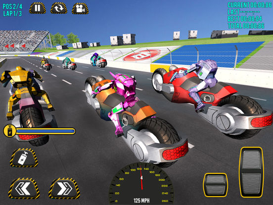 Superheroes Moto Bike Racing screenshot 5