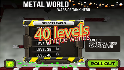 Wars of Tank Hero Metal World screenshot 5