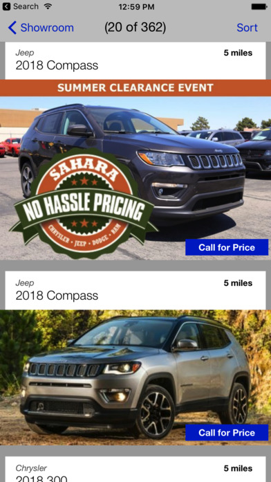 App Shopper Sahara Chrysler Jeep Dodge Ram Dealerapp