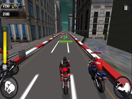 Motorcycle Race Stunt Attack 3d screenshot 4