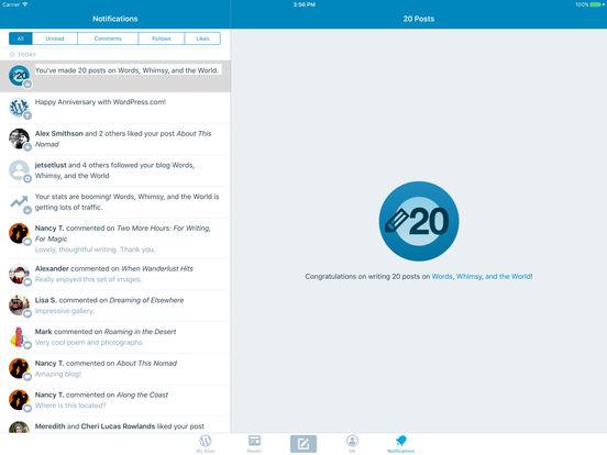 Screenshots for WordPress