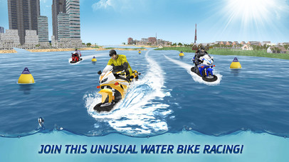 Surfing Bike Water Wave Racing screenshot 1