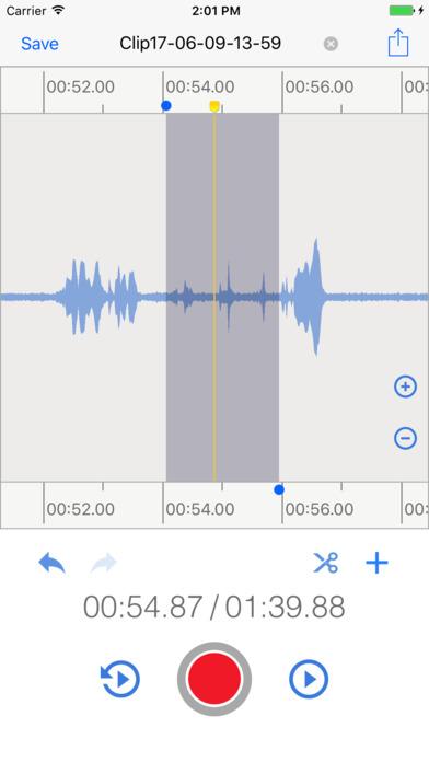 EZAudioCut - Make Audio Cut and Record Easy Screenshots