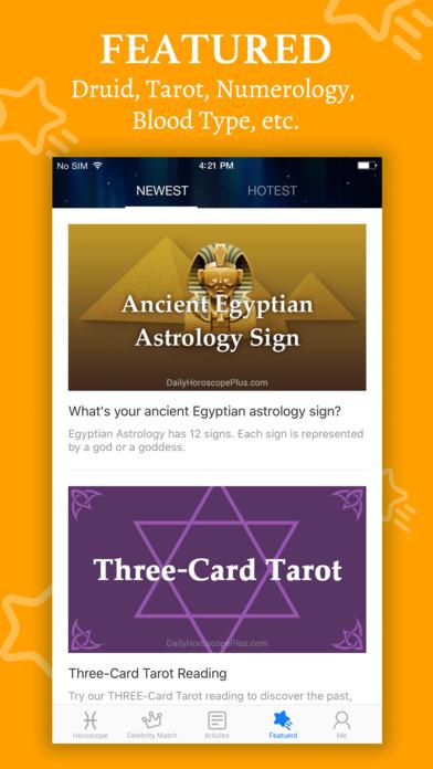 Horoscope+ 2018 screenshot 4