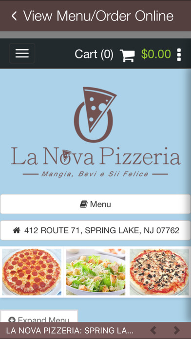 La Nova Pizzeria - NJ screenshot 4