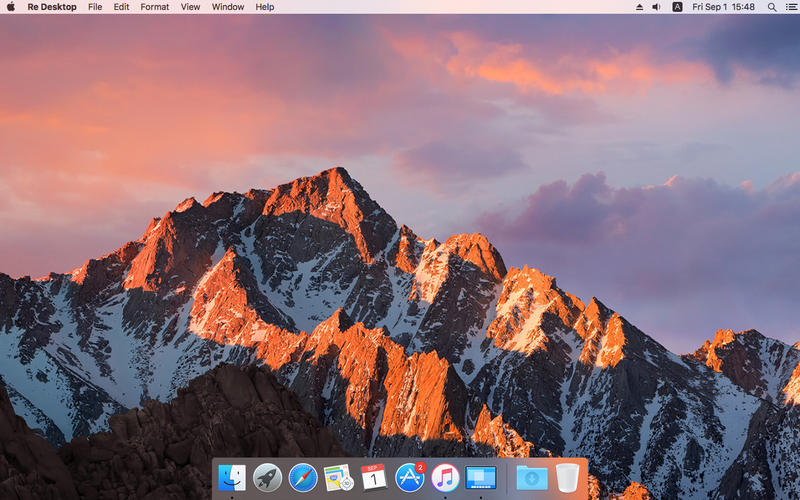 Re Desktop for Mac