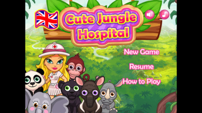 Cute Jungle Hospital screenshot 1