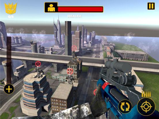 US Army Sniper Robots Futuristic Battle screenshot 9