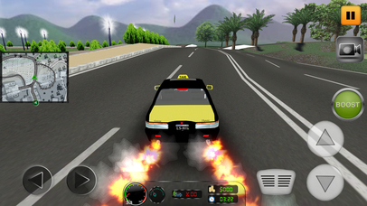 Taxi Simulator 2017: City Car Driving screenshot 1