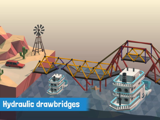 Poly Bridge Screenshots