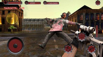 Monster Superhero Sniper Shooter screenshot 2