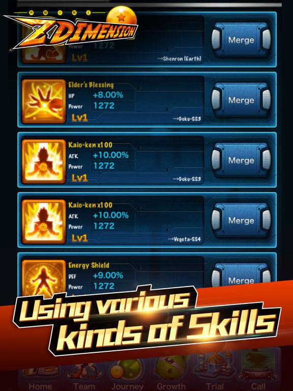 Z Dimension Saga screenshot 7
