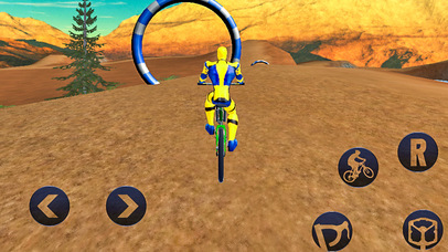 Spider Superhero Bicycle Riding: Offroad Racing screenshot 1