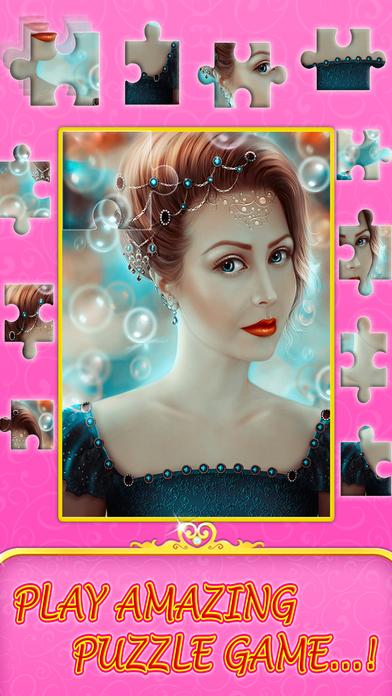 Angel princess puzzle screenshot 3