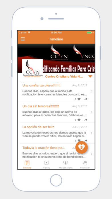 CCVN App screenshot 4