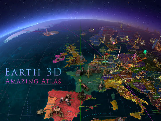 Earth 3D - Amazing Atlas Screenshots