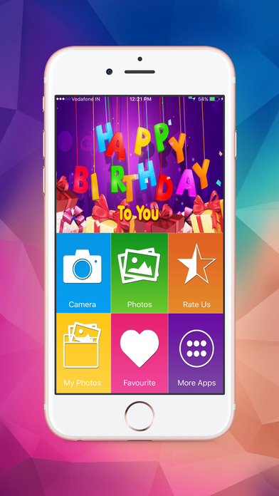 Name and Photo on Birthday Cakes screenshot 1