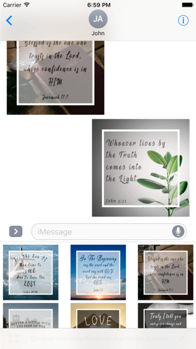 Christian Holy Bible Scriptures & Verses Stickers screenshot 3