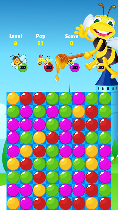 Bee Of King - pop and blast the you bee bubble screenshot 3
