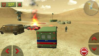 US Army Ambulance Rescue Game screenshot 2