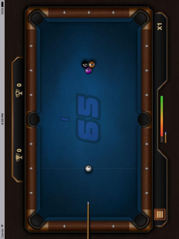 迷人的台球桌 screenshot 4