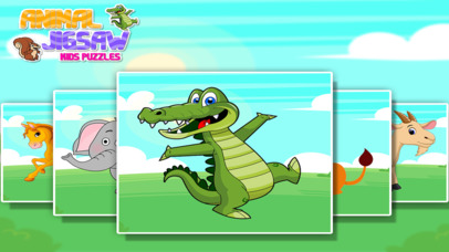 Animal Jigsaw Kids Puzzle Pro screenshot 5